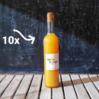 Ginger Flasche mit 10x Beschriftung, zur Anzeige als 10er Set Mein Ginger